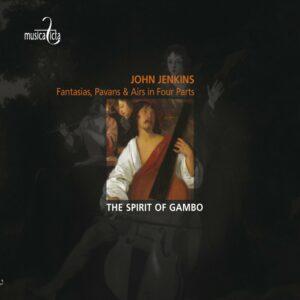 John Jenkins: Fantasies, Pavans & Airs in Four Parts - The Spirit of Gambo