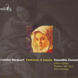 Carolus Hacquart: Motetti - Celine Scheen, Stephan Van Dyck, Dirk Snellings, Clematis, Leonardo Garcia Alarcon