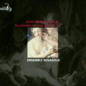 Jean-Marie Leclair: Six Sonatas for Strings Op. 4 - Ensemble RosaSolis